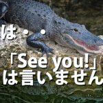 「See you!」はちょっと変⁈英語教室ママ必読!